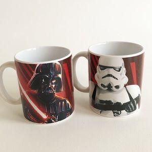 2 Star Wars Darth Vader Storm Trooper Mugs Galerie